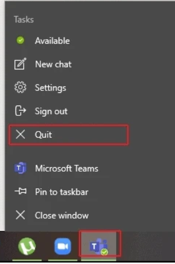 How to clear Microsoft teams